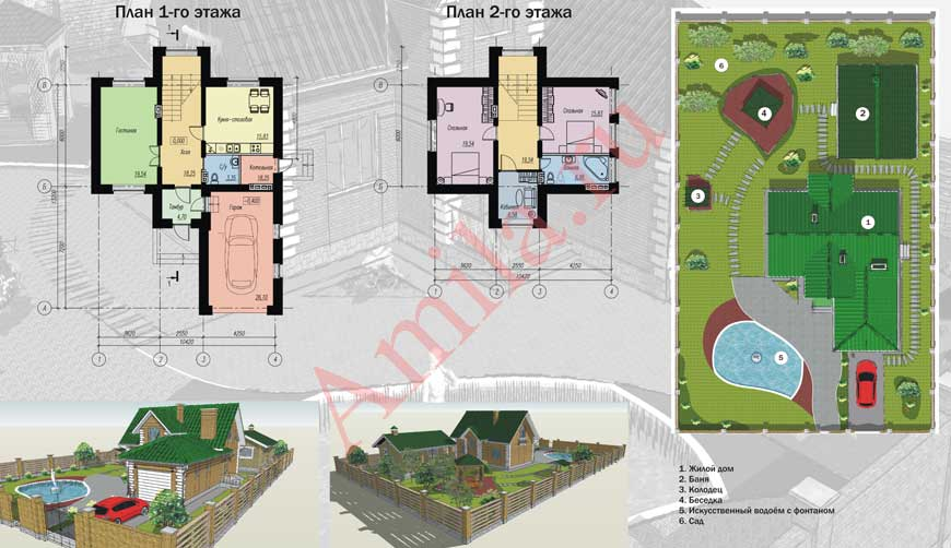 Проекты домов Фасад дома